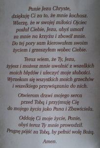 Ogłoszenie Jezusa Panem i Zbawicielem